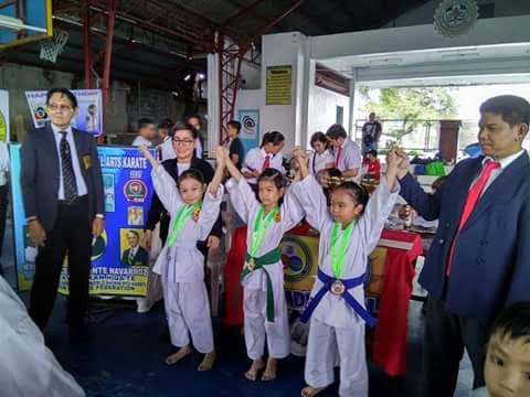Southville Young Karateras Bring Home Gold and Silver Medals