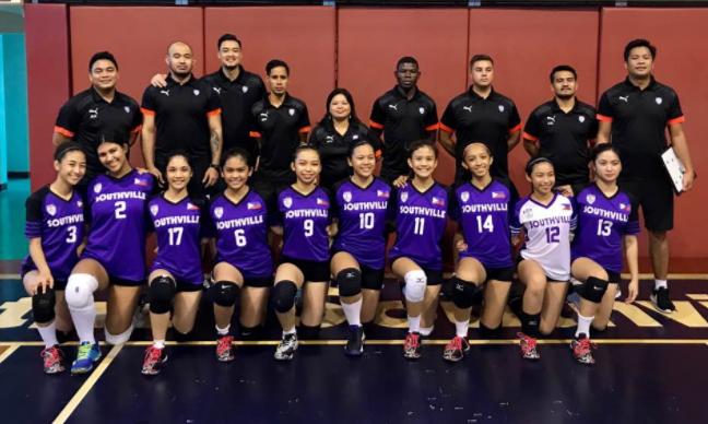 Southville Monarchs Wins ISAC Girls' Volleyball Championship
