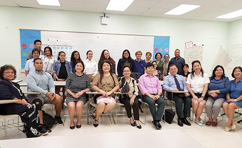 Southville Deans Share Their Expertise in Guam