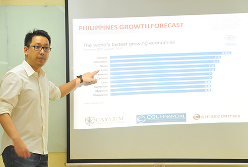 Southville holds Financial Investment Seminar for Graduating Students