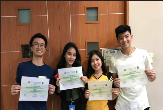 Southville Business High School Students Win in Business Competition