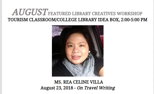 Southville Library Holds Creative Workshop Series