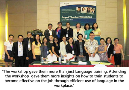 Asian Language Teachers Certification: Toward Asean 2015