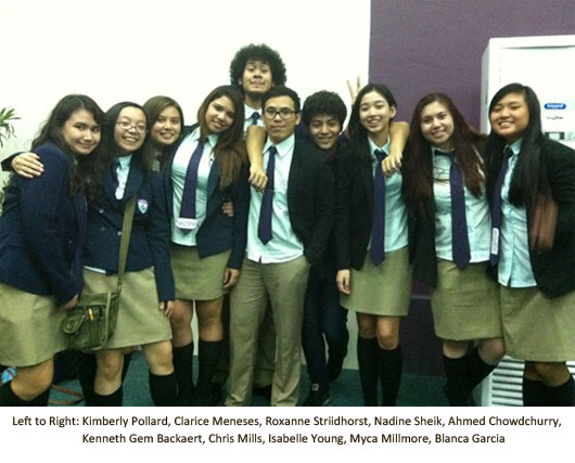 SISC IB Students Joined Int'l Conference on Global Issues