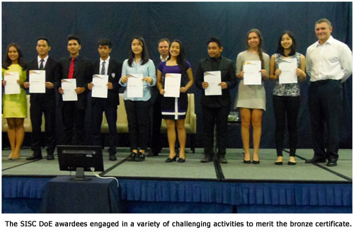 Southville Young Achievers Receive Royal Award