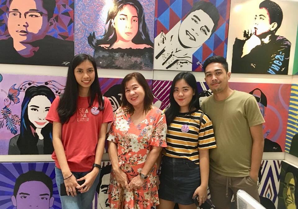 Southville Students' Artworks Showcased at SM Megamall