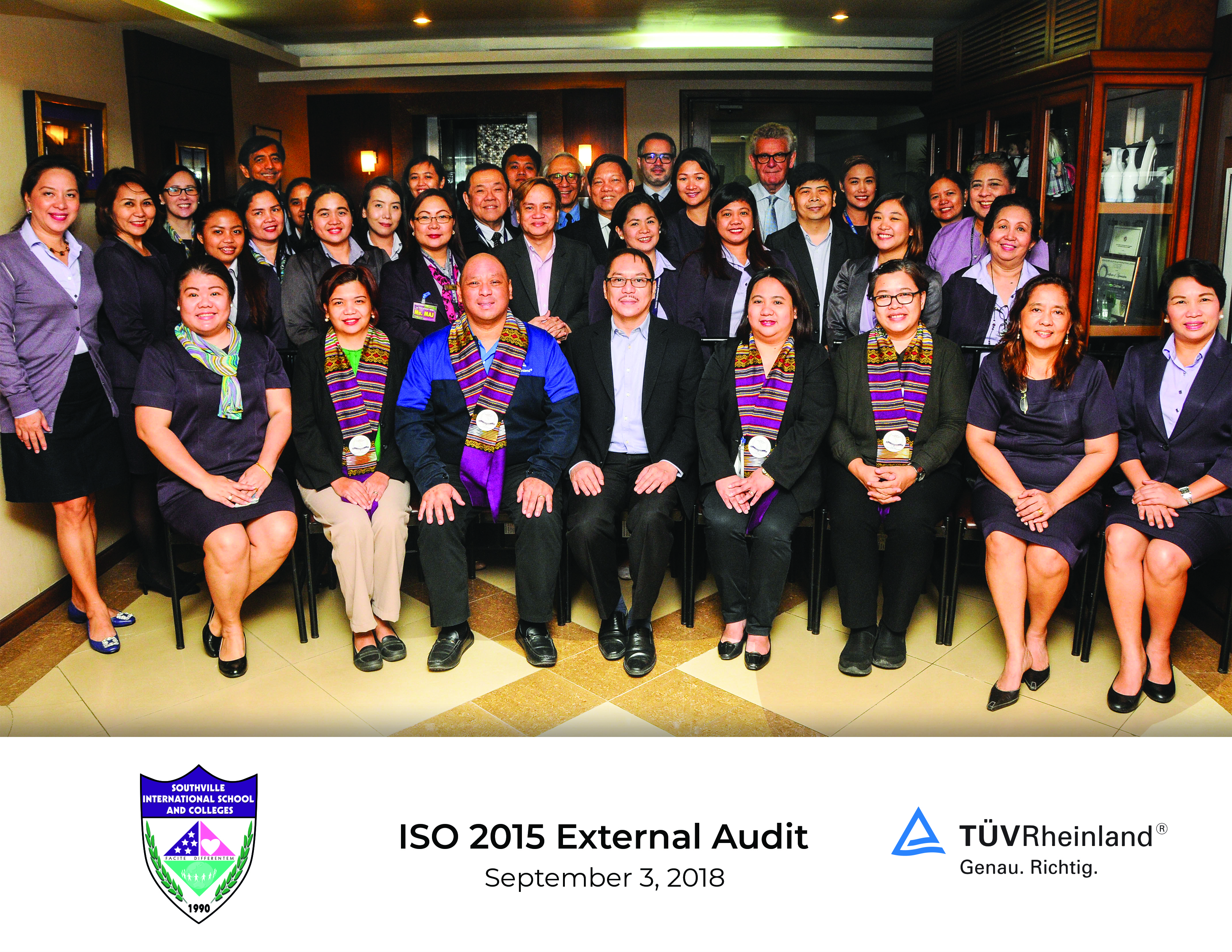 Southville Receives ISO 9001:2015 Certification