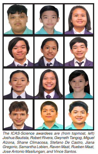 Southville Monarchs shine in international science assessment