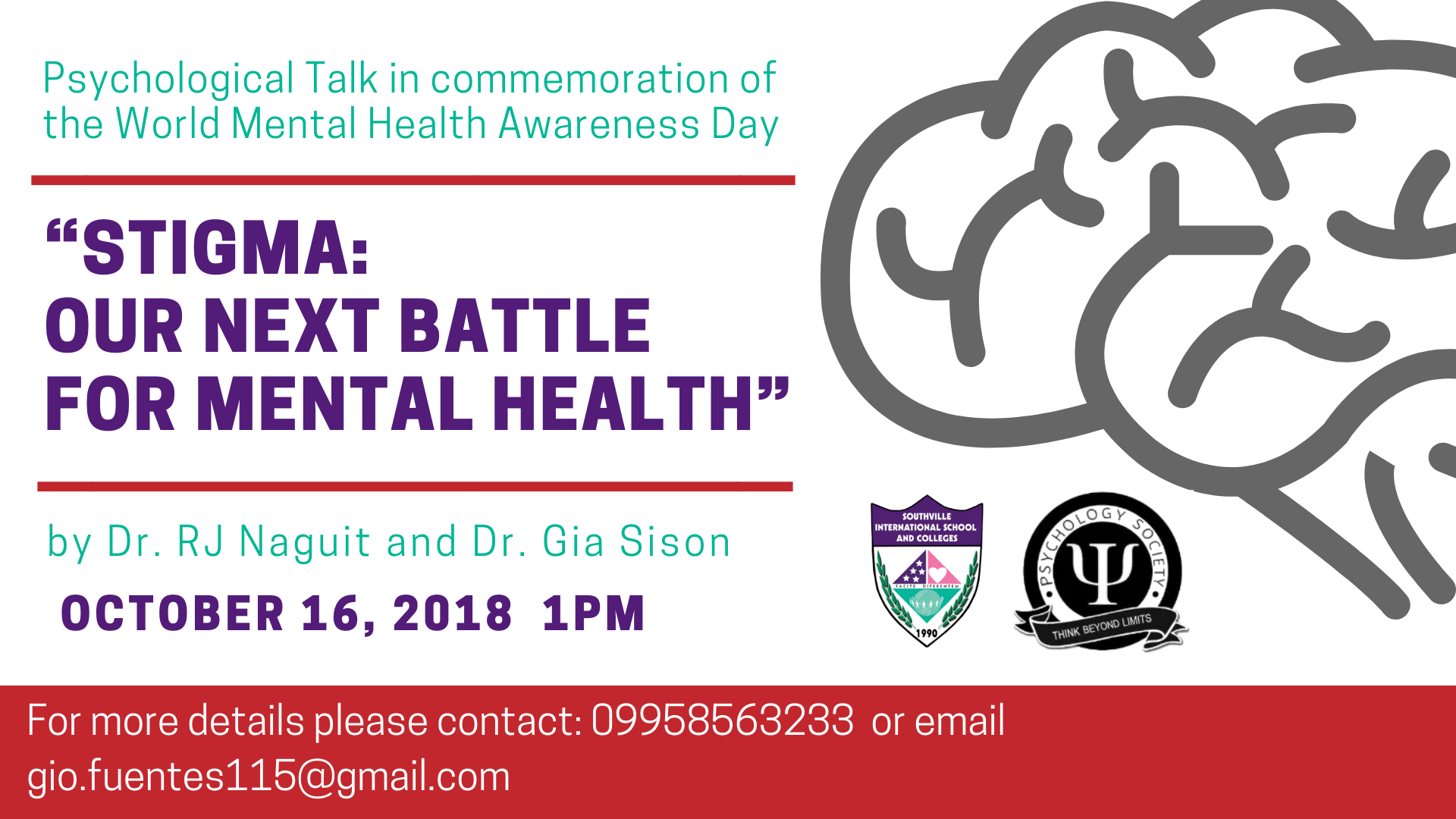 Southville College of Psychology hosts Mental Health Awareness Talk