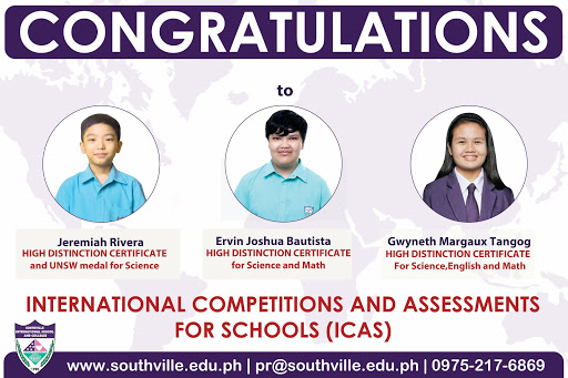 ICAS Recognizes Southville Excellence