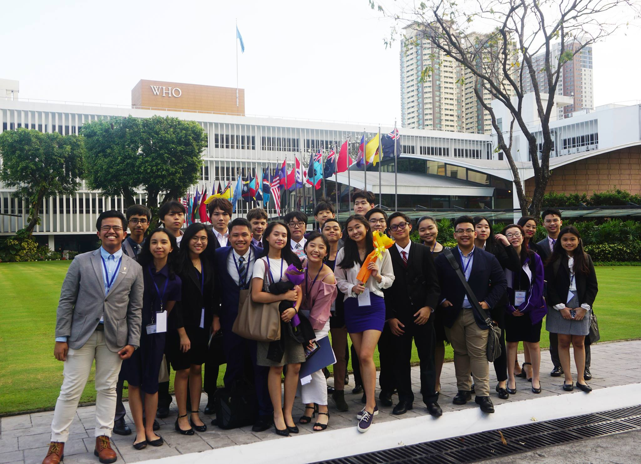 Young Diplomats Rule Model United Nations