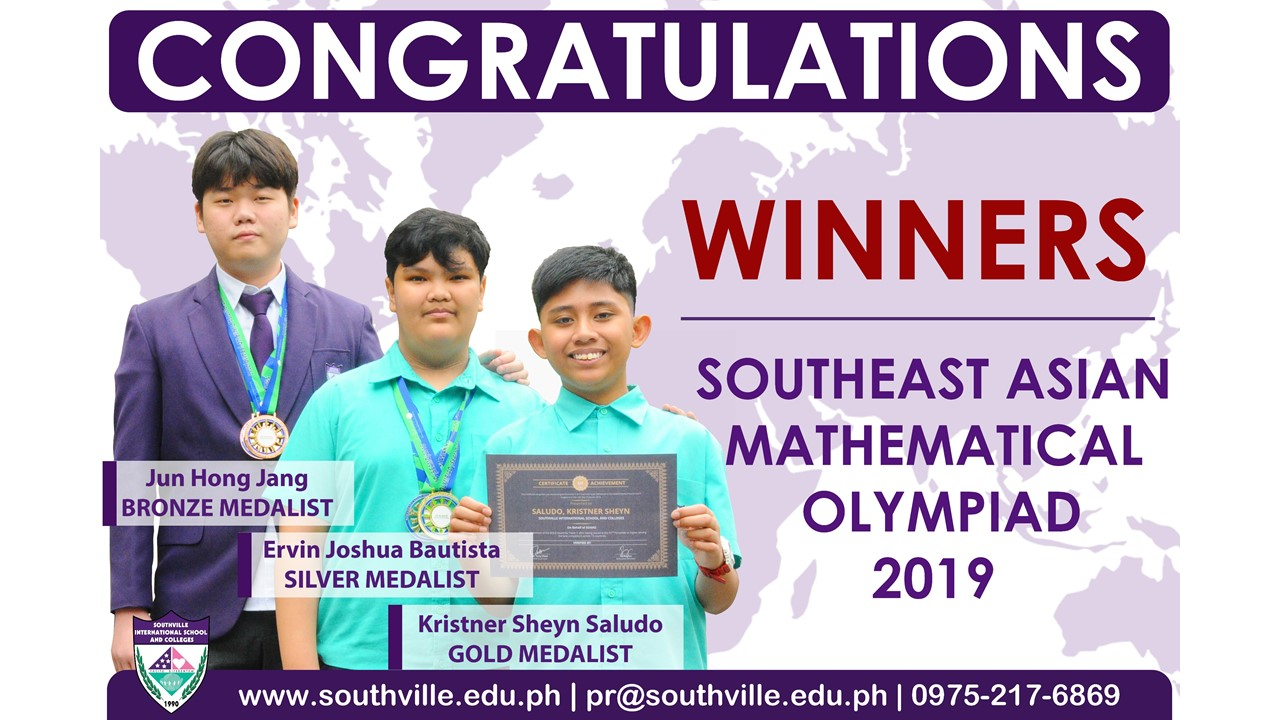 Southville Math whizzes win big in Singapore