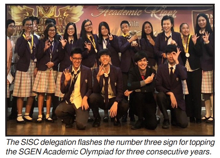 Southville completes three-peat in Academic Olympiad