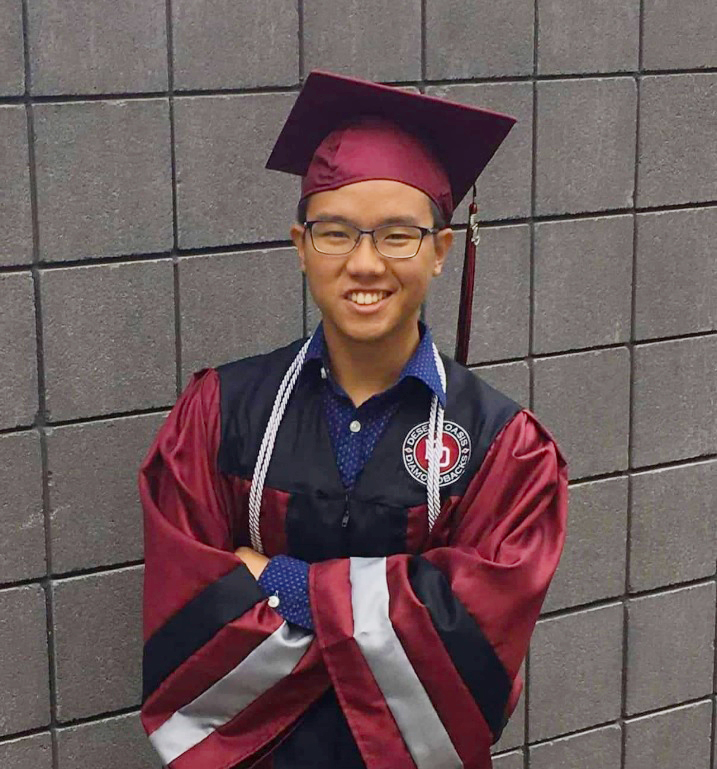 From Philippines to US, Stan Rivera Attains STRAIGHT A's Through IBDP