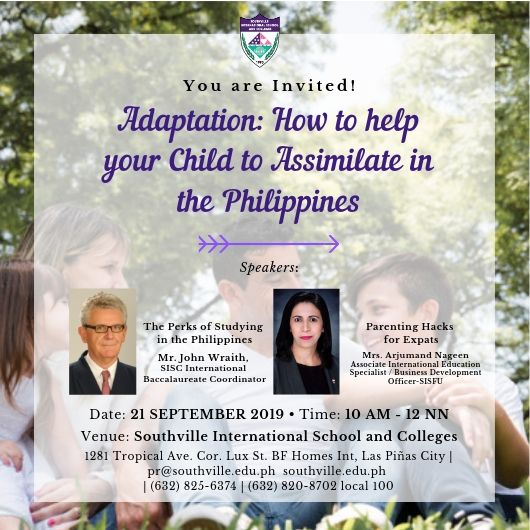 Welcome Home: Southville to Welcome Expat Parents