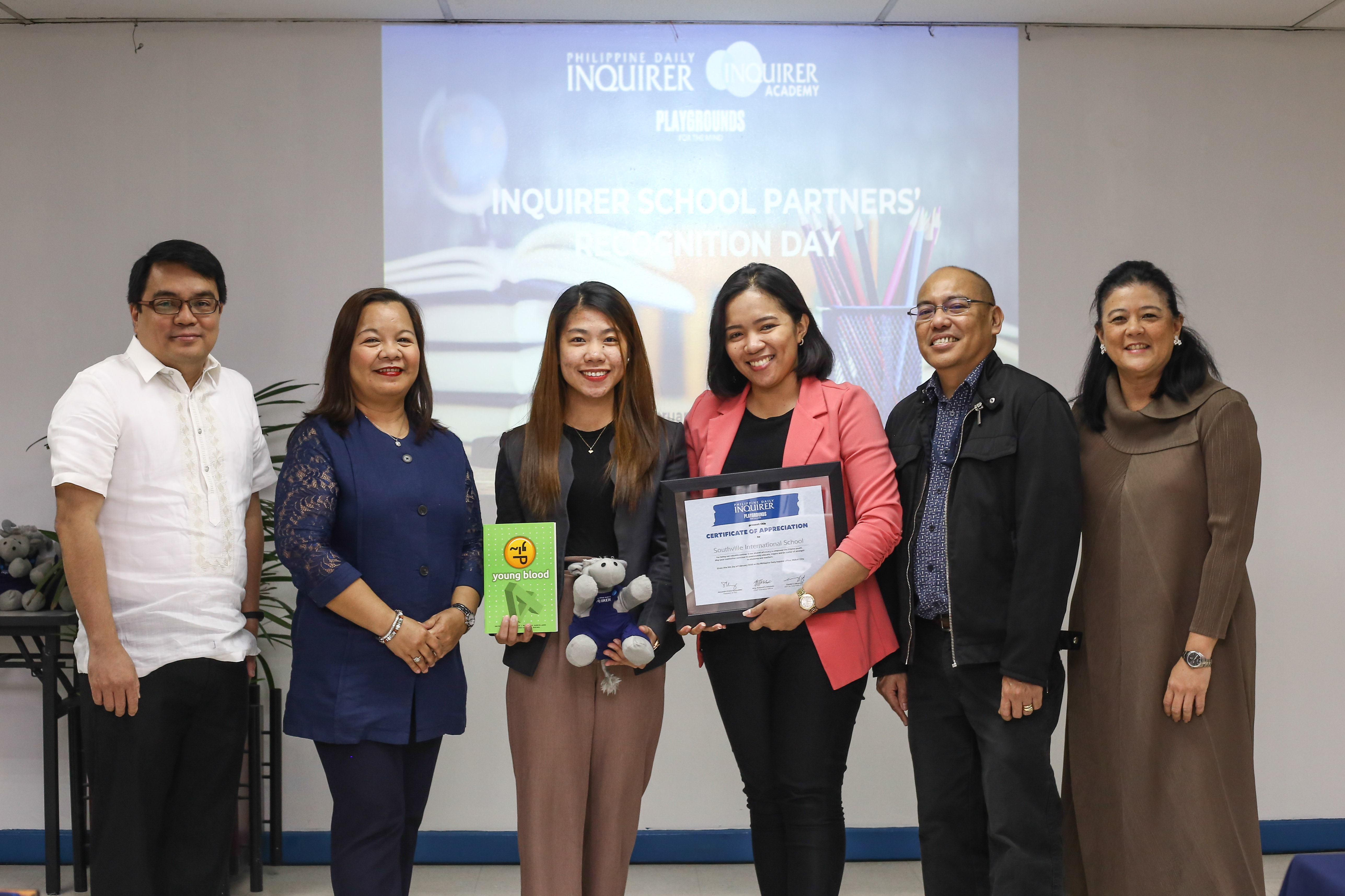 Southville Receives Recognition from Philippine Daily Inquirer