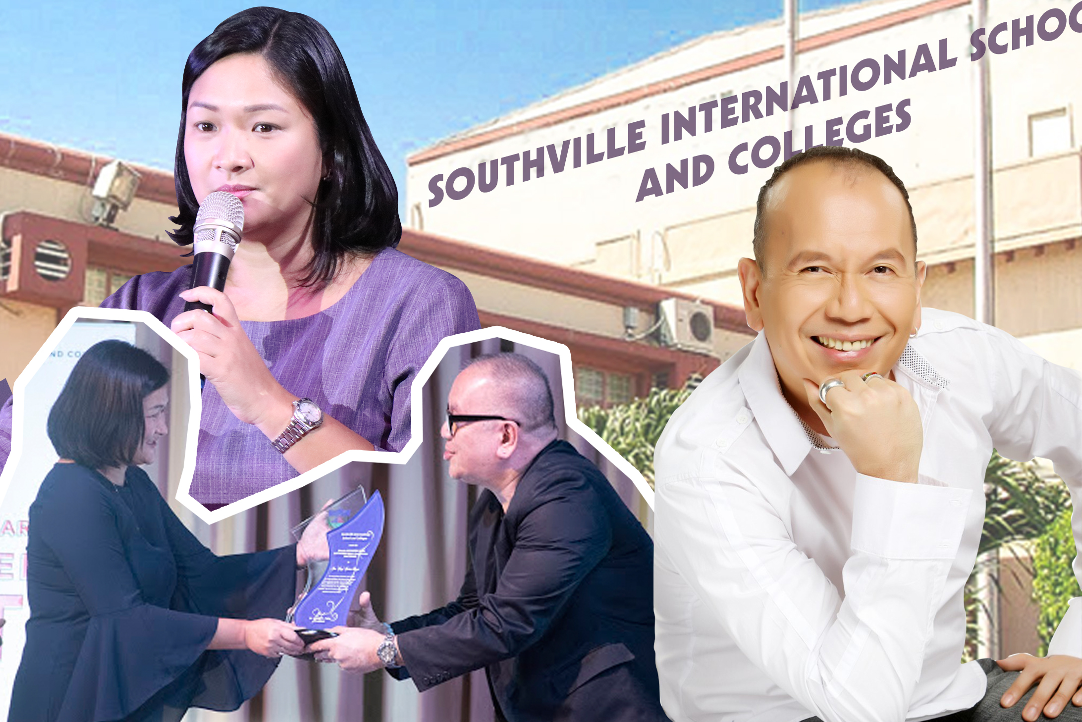 Southville Awards Direk Joey Reyes as its 1st Outstanding Media Practitioner