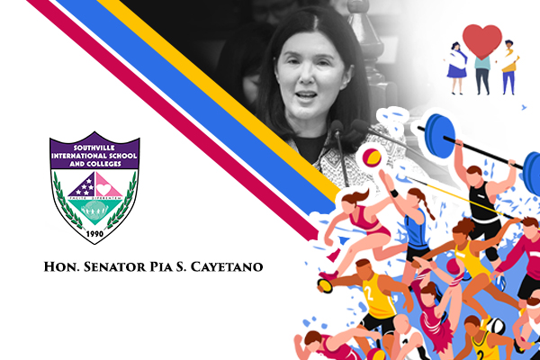 Southville Welcomes Hon. Senator Pia Schramm Cayetano to its Virtual Learning Doors (A Webinar)