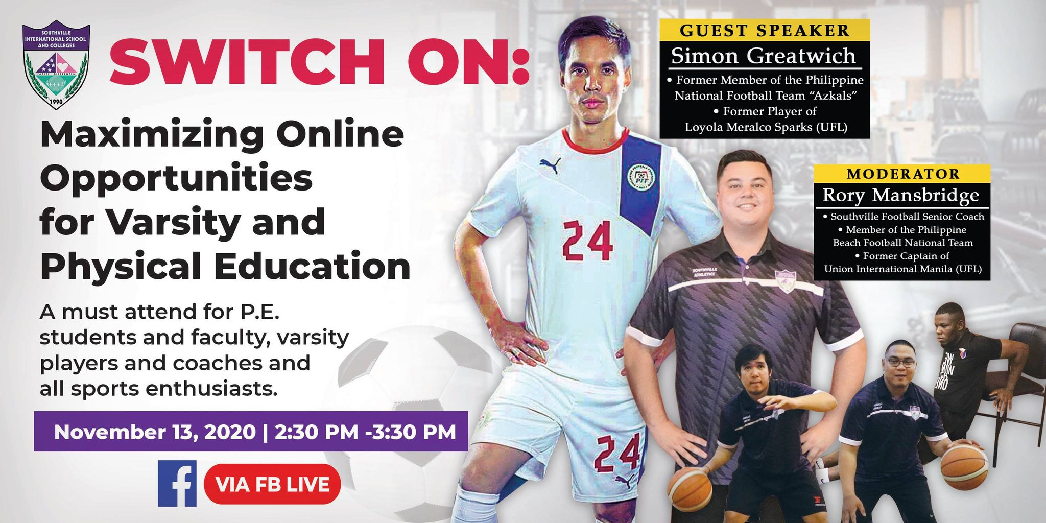 SWITCH ON: Maximizing Online Opportunities for Varsity and Physical Education
